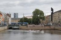 Ausflugsboot in Göteborg
