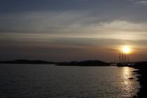 Sonnenuntergang Hälleviksstrand