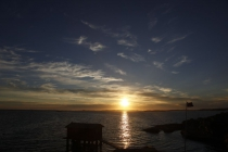 Sonnenuntergang in Mollösund