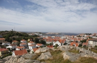 Ausblick über Lysekil