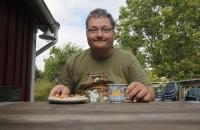 Nachmittagskaffe auf der Terrasse