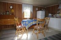 Die Küche des Ferienhauses