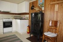 Ofen und Abwasch im Ferienhaus
