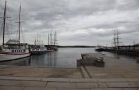 Am Hafen von Oslo