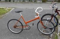 Ein etwas spartanisches Bike :-)