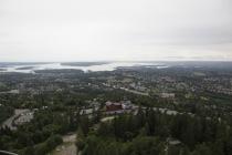 Ausblick vom Holmenkollen auf Oslo