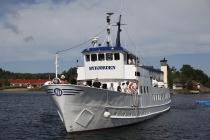 Die Byfjorden beim Einlaufen in Henån