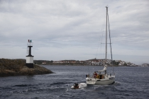 Segelboot vor Käringön