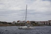 Katamaran vor Gullholmen