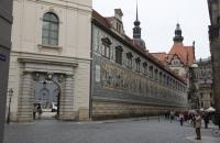 Mauer des Schlosses