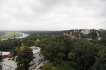 Blick auf Elbe und Villenviertel