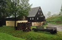 Haus im Freilichtmuseum in Seiffen