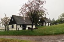 Häuser im Freilichtmuseum in Seiffen