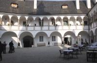 Innenhof des Schloss Orth