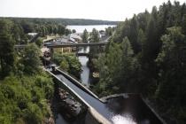 Aquädukt und Schleusen in Håverud