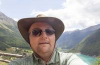 """Ein Selfie des """"alten"""" Schweden in Südtirol :-)"""