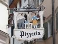 Nettes Schild einer Pizzeria