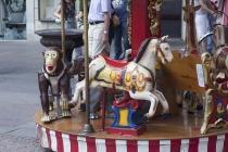 Kleines Kinderkarussel am Walther Platz