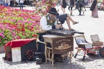 Strassenmusiker am Walther Platz