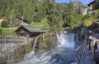 Wasserfall in Hinterbichl