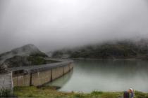 Großer Stausee in Kaprun