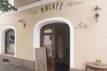 Einladender Eingang des MoCafe
