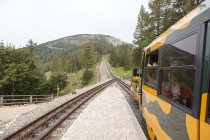 Kurze Buchtel-Rast bei der Station Baumgartner