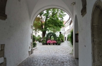 Durchgang in Regensburg