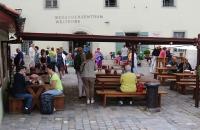 Das bekannte Wurstlokal in Regensburg