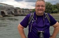 Ich am Donauufer