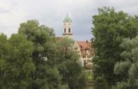 Schöne, alte Kirche in Regensburg