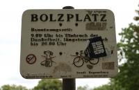 Ein Bolzplatz