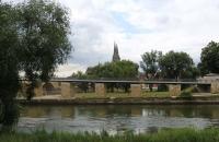 Blick Richtung Regensburger Dom