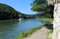 Weisser Felsen an der Donau