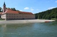 Das Kloster Weltenburg ist erreicht