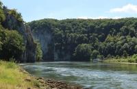 Blick auf den Donaudurchbruch