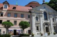 Im Garten des Kloster Weltenburg
