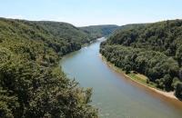 Blick zur Donau vom Wieserkreuz