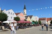 In der Altstadt von Kelheim