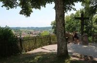 Blick vom Kloster Andechs in die Umgebung