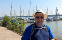 Ich am Ufer des Ammersee in Schondorf