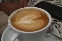 Ein liebevoll zubereiteter Kaffee