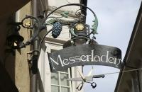 Schild in der Bozener Altstadt