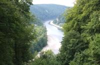 Blick von der Befreiungshalle zur Donau