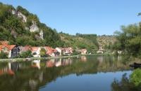 Häuser am Wasser in Kallmünz