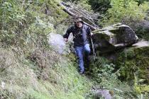 Abenteuerlicher Abstieg
