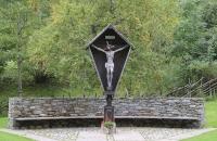 Kreuz im Ort Unser Frau