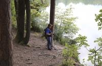 Ich am kleinen Mittagler See