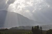Wolkenstimmung über Meran
