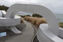 Moderne Bögen am Stirling Point